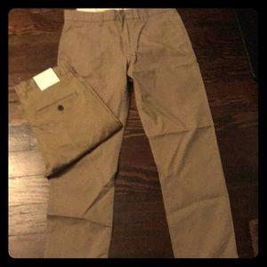 NWT Men's Stretch Khakis-2 pair